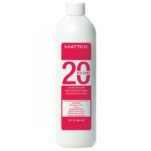 Matrix Cream Developer 20-Volume 32 Oz