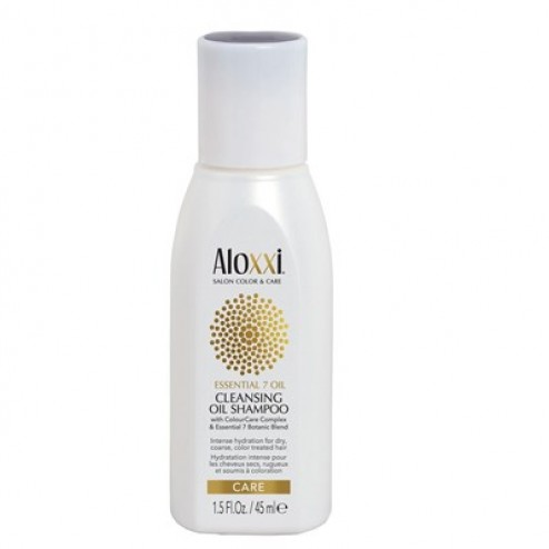 Aloxxi Essential 7 Cleansing Oil Shampoo 1.5 Oz