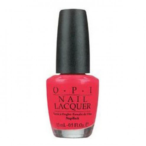 OPI Nail Lacquer - NLB35 Charged Up Cherry