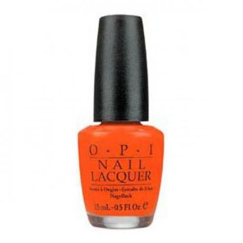 OPI NL B39 Atomic Orange