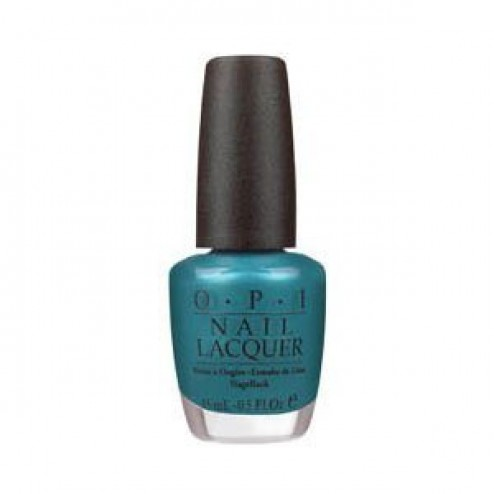 OPI NL B54 Teal the Cows Come Home
