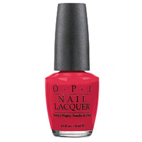 OPI Nail Lacquer - Big Apple Red NLN25