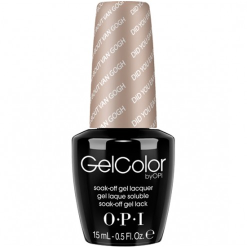 OPI GelColor Soak-Off Gel Lacquer - Did You 'ear About Van Gogh