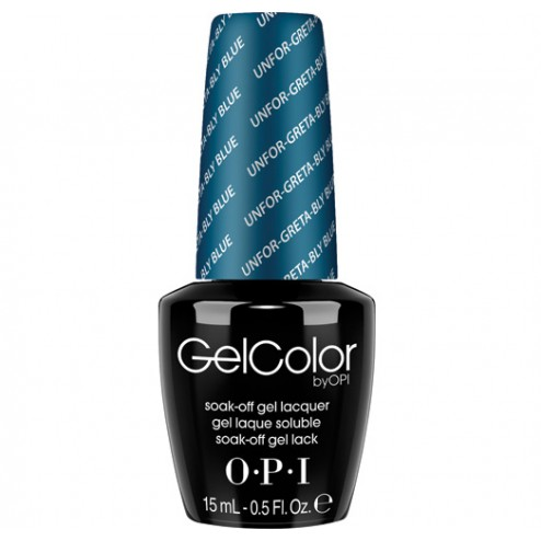 OPI GelColor Soak-Off Gel Lacquer - Unfor-greta-bly Blue