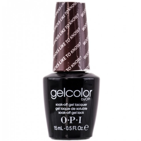 OPI GelColor Soak-Off Gel Lacquer - Wooden Shoe Like To Know