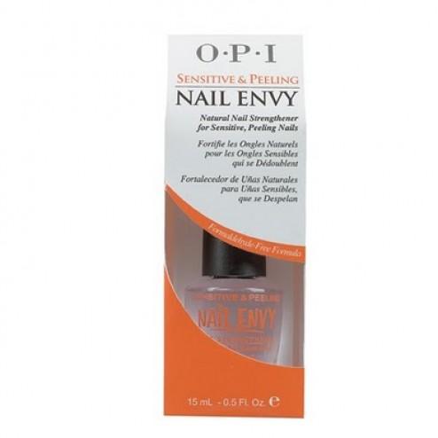 OPI Nail Envy Natural Nail Strengthener for Sensitive and Peeling Nails 0.5 Oz