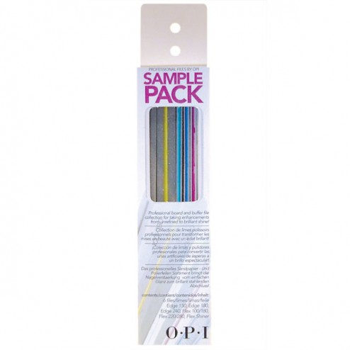 OPI Professional Nail File Sample Pack 6 Files