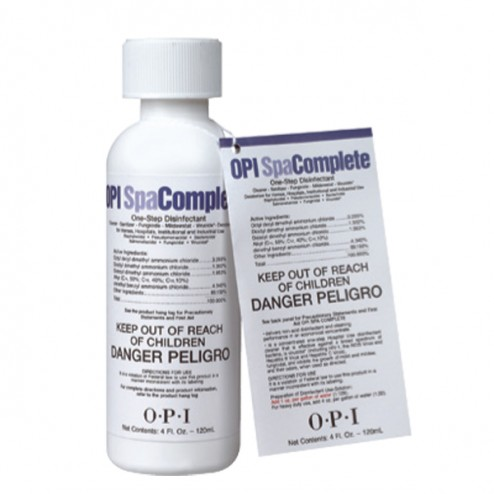 OPI SPA Complete Disinfectant 4 Oz