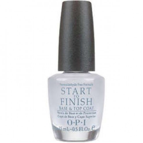 OPI Start to Finish 3 in 1 Nail Treatment 0.5 Oz