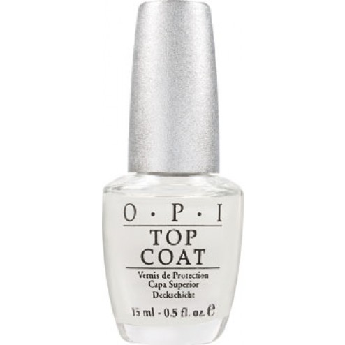 OPI Designer Series Crystal Clear Top Coat Treatment DST03 0.5 Oz
