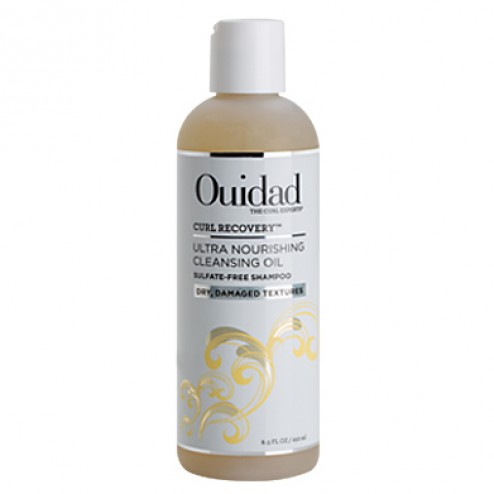Ouidad Curl Recovery Ultra Nourishing Cleansing Oil Sulfate Free Shampoo 8.5 oz