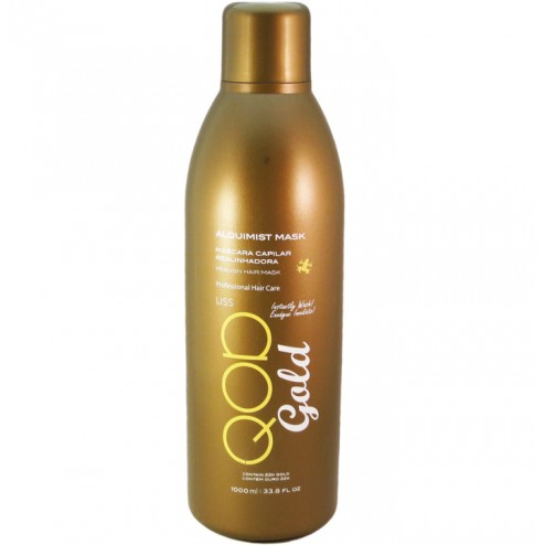 QOD Gold Alquimist Mask - Keratin Smoothing Treatment