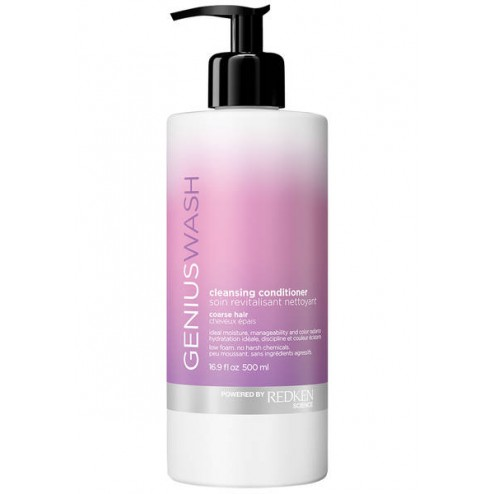 Redken Genius Wash Cleansing Conditioner for Coarse Hair 1.7 Oz