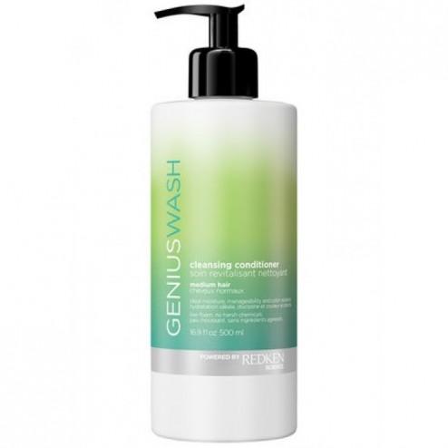 Redken Genius Wash Cleansing Conditioner for Medium Hair 1.7 Oz