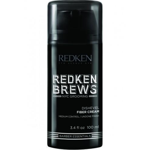 Redken Brews Dishevel Fiber Cream 3.4 Oz