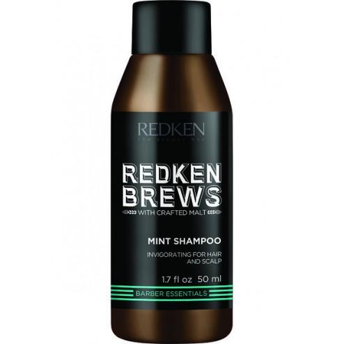 Redken Brews Mint Shampoo 1.7 Oz
