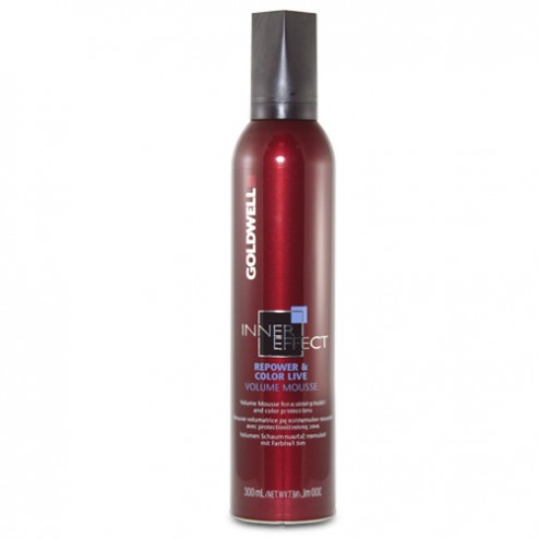 Goldwell Inner Effect RePower Color Live Volume Mousse 10.3 oz