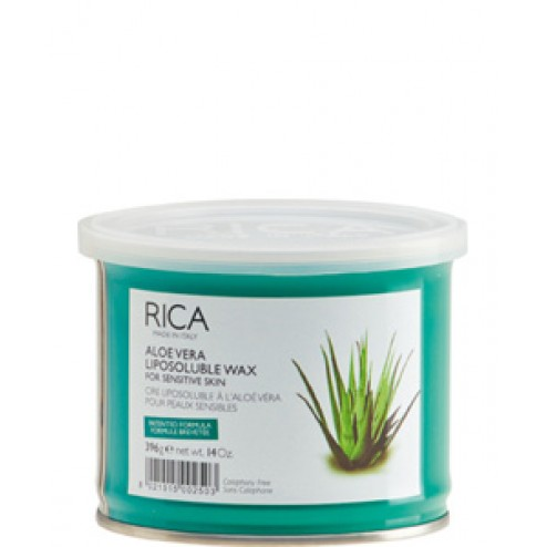 Rica Aloe Vera Liposoluble Wax 14 Oz