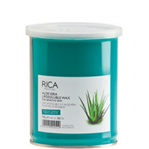 Rica Aloe Vera Liposoluble Wax 26 Oz