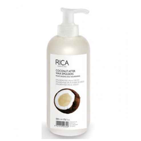 Rica Coconut After Wax Emulsion 16.9 Oz
