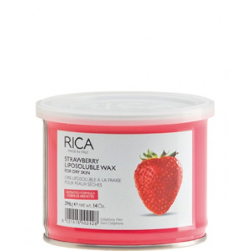 Rica Strawberry Liposoluble Wax 14 Oz