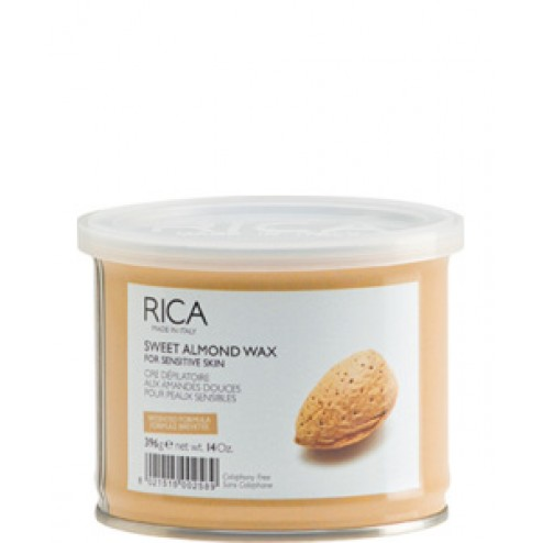 Rica Sweet Almond Liposoluble Wax 14 Oz