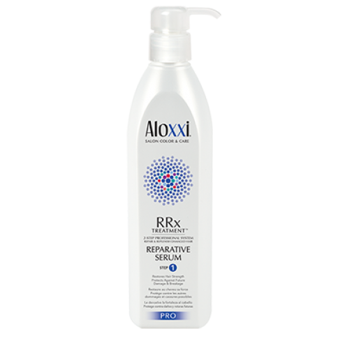 Aloxxi RRx Treatment Reparative Serum Step 1
