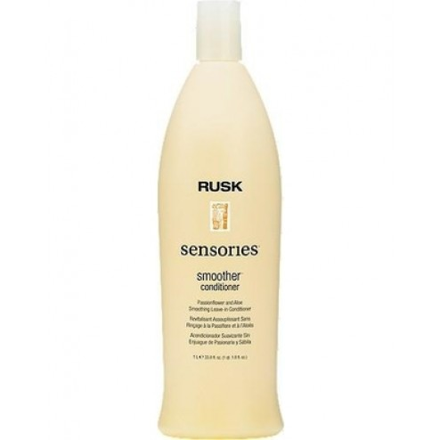 Rusk Sensories Smoother Passionflower and Aloe Leave-In Smoothing Conditioner