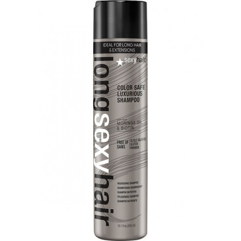 Sexy Hair Long Sexy Hair Color Safe Luxurious Shampoo 10.1 Oz