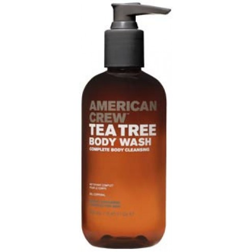 AmericanCrew Tea Tree Body Wash 8.5 oz