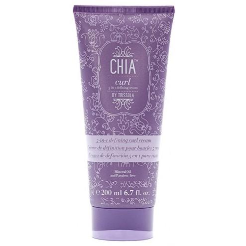 Trissola CHIA 5-in-1 Defining Curl Cream 6.7 Oz