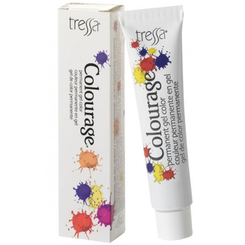 Tressa Colourage Permanent Gel Haircolor 2 Oz - 4G Warm