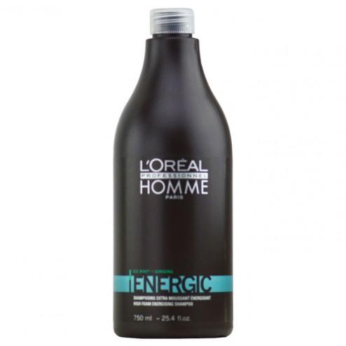 Loreal Homme Energic Energizing Shampoo 25.4 Oz
