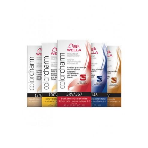 Wella Color Charm Permanent Liquid Haircolor 1.4 Oz - Dark Auburn