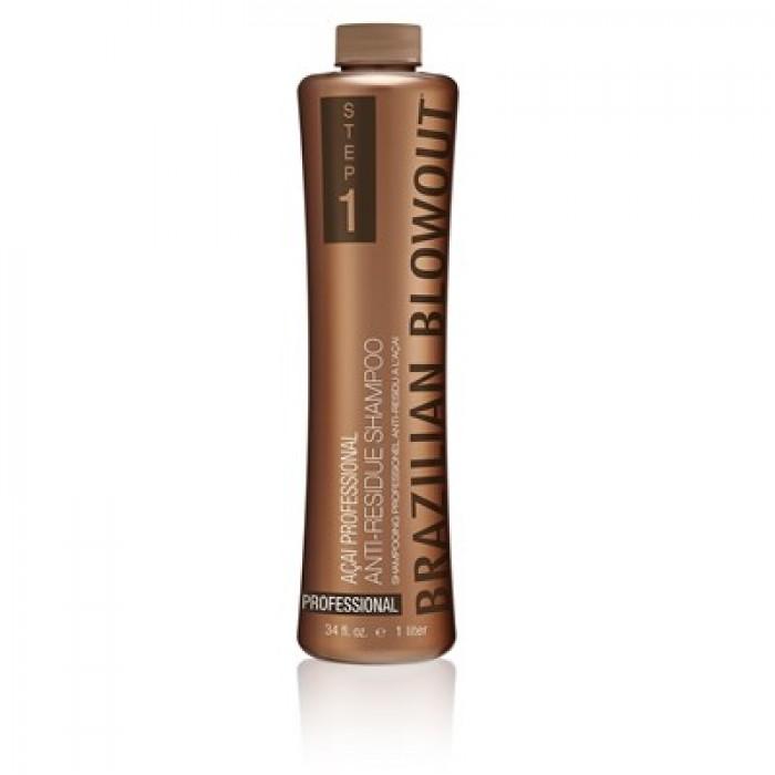 brazilian blowout acai antiresidue shampoo