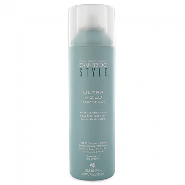 bamboo style hair products alterna bamboo style ultra hold hair spray 9099
