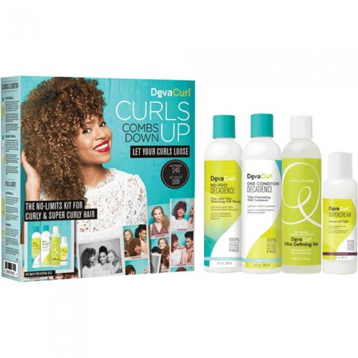 Deva Curl Curly And Super Curly Kit Limited Stock