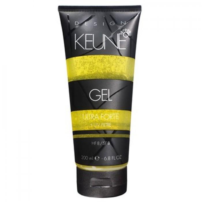 Keune Design Line Ultra Forte Gel 6.8 Oz
