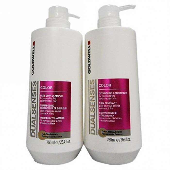 Goldwell Dualsenses Color Fade Stop Shampoo And