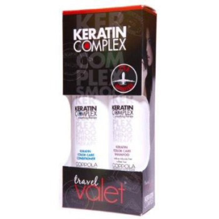 The Fashion Beauty Complex: Keratin Complex Color Care Shampoo And Conditioner Travel Set