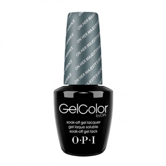 Opi Gelcolor Soak Off Gel Lacquer On Her Majesty S