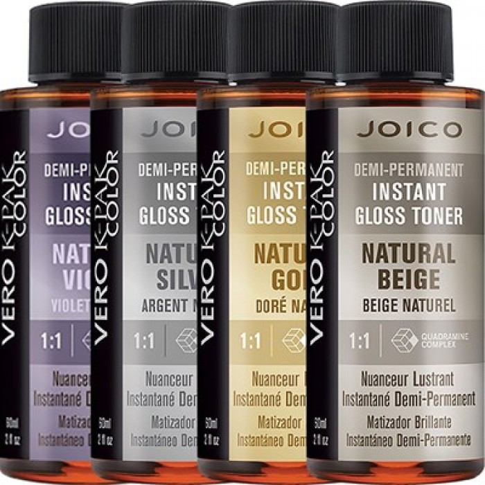 Joico Vero K Pak Color Demi Permanent Instant Gloss Toner Shades