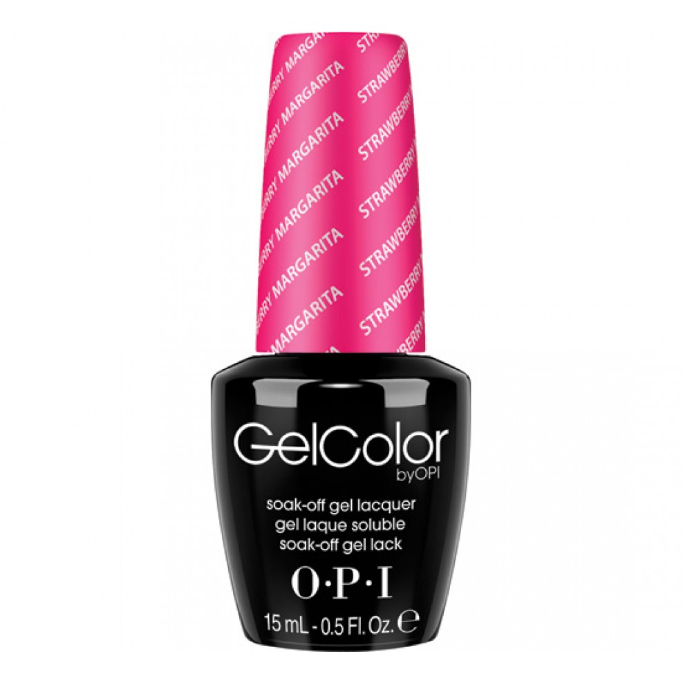 Opi Gelcolor Soak Off Gel Lacquer Strawberry Margarita