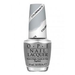 OPI Lacquer Silver Canvas P19 0.5 Oz