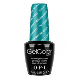 OPI GelColor This Color's Making Waves GCH74 0.5 Oz