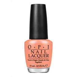 OPI Lacquer I'm Getting a Tan-gerine R68 0.5 Oz