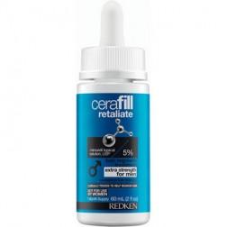 Redken Cerafill Retaliate 5% Minoxidil Topical Solution 2.0 Oz for Men