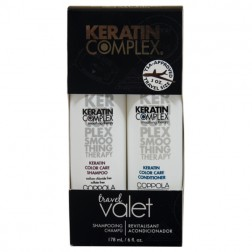Keratin Complex Travel Valets Color Care Shampoo and Conditioner (3 Oz each)