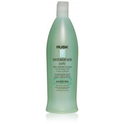 Rusk Sensories Purify Cucurbita and Tea Tree Deep Cleansing Shampoo 33.8 Oz