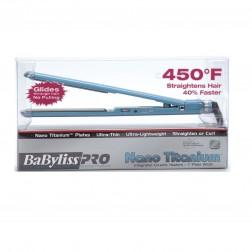 Babyliss Nano Titanium Ultra Thin Flat Iron 1 Inch